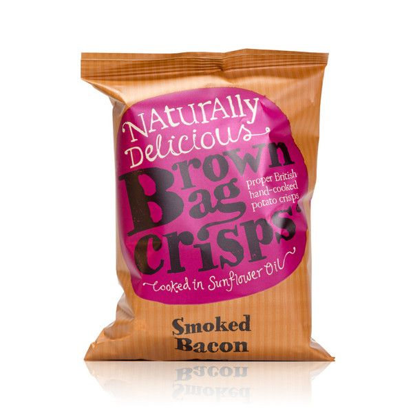 Coori Gluten Free Smoked Bacon Crisps! 45g  These crisps are certainly not for vegetarians! The natural smoked flavour from sustainable oak perfectly complements the full-flavoured bacon.  These are our newest crisps which have been brought to you by popular demand!