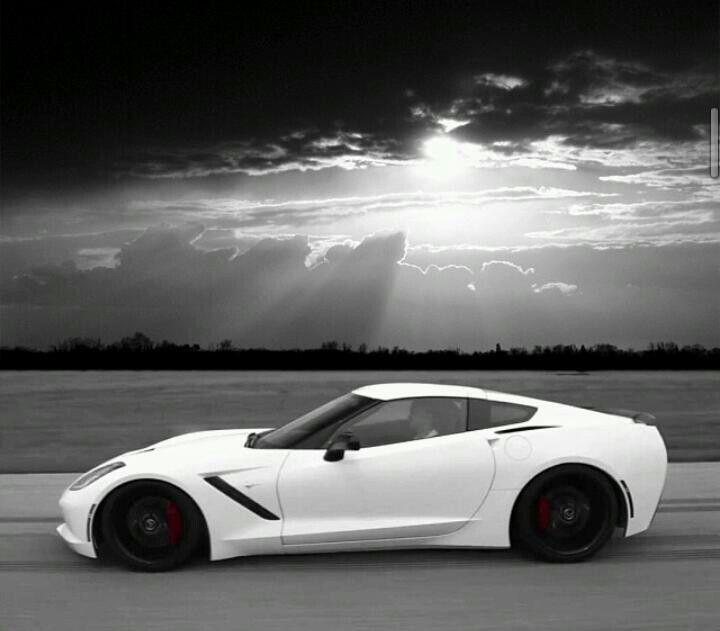 2014 Corvette Stingray WHITE Storm Trooper