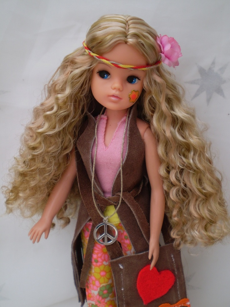 Hippy Sindy (Not my doll), repinned from Pinterest. #sindy