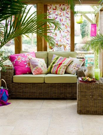 Tropical-style conservatory