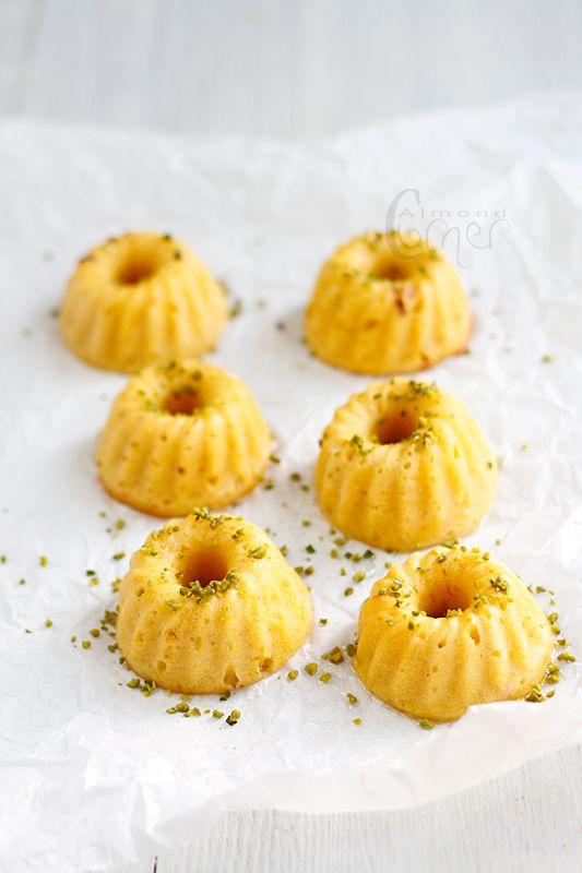 Almond Corner: Orange-cardamom scented mini bundt cakes ...
