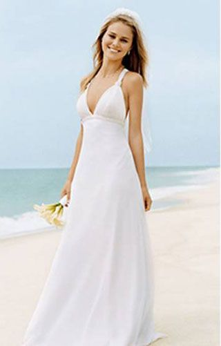 simple second wedding dresses