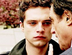 I'm sad so i'm just going to pin Sebastian Stan crying | Here i go | Sad pin number one