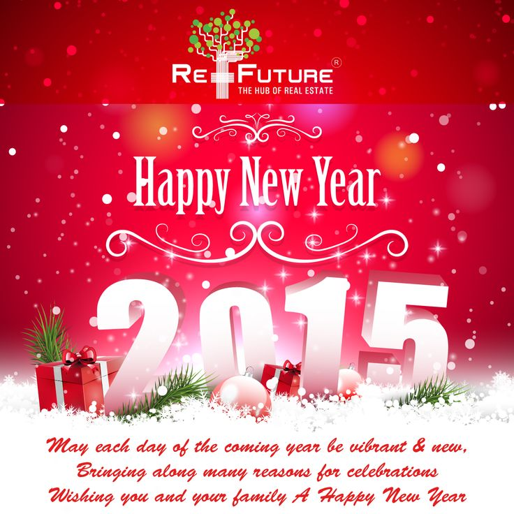 RE-FUTURE : Wish U all Happy New Year 2015 & thanks to all well- wishers for being with us in success of 2014.