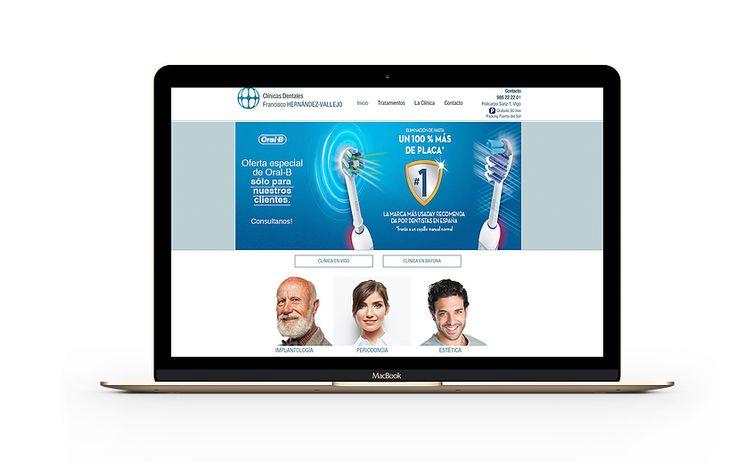 #clinias dentales #hernandez-vallejo #web #Fasideas