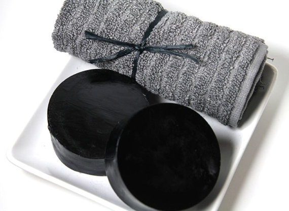 #ActivatedCharcoal #Detox Facial Soap with Lavender by TubTime