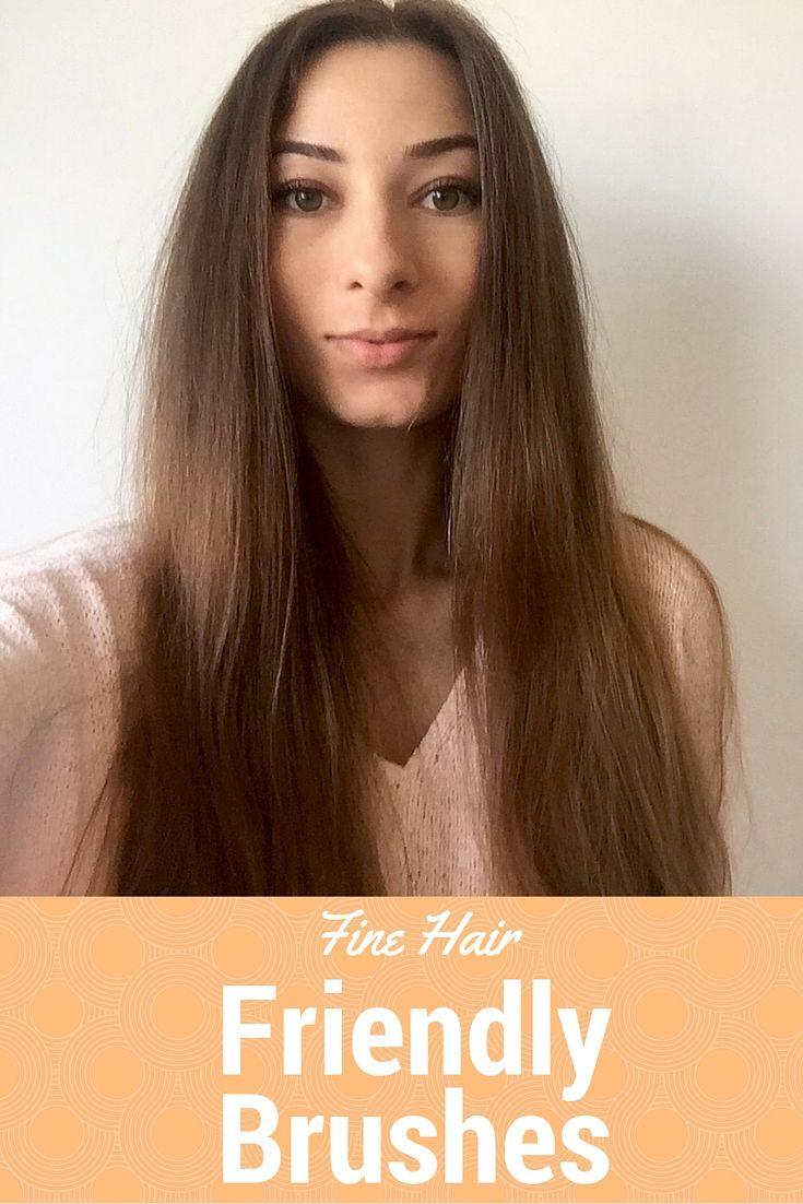 Best Brushes for Fine Hair  Best hot air brush styling