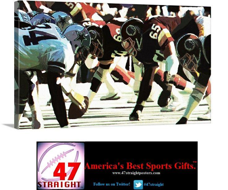 1980's #Dallas #Cowboys vs #Washington #Redskins #NFL #football #sportsart on canvas. 80's NFL action football art. #47straight #BigD #profootball #mancave #gameroom #office #homedecor #Irving #Texas Available soon.