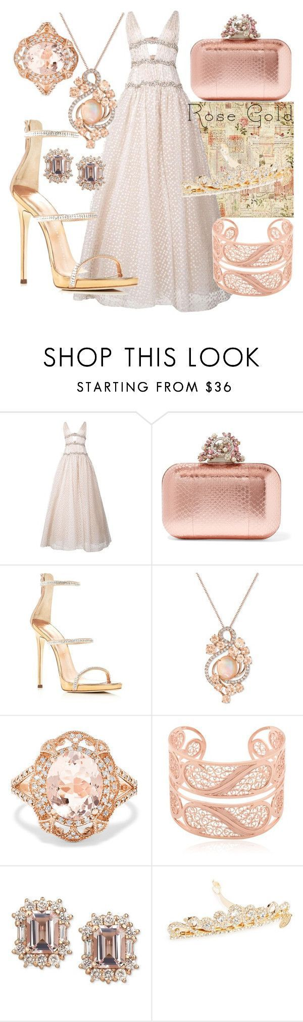 """Princess Rose"" by hanisi ❤ liked on Polyvore featuring Carolina Herrera, Jimmy Choo, Giuseppe Zanotti, LE VIAN, Effy Jewelry, Arabel Lebrusan and Tasha #carolinaherrera #carolinaherreracanada #carolinaherreraperfume #perfumes #perfumes #canada"