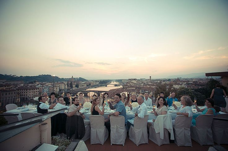 Wedding Reception Dinner in Florence, Tuscany Outdoor Venue for Wedding Receptions in Florence