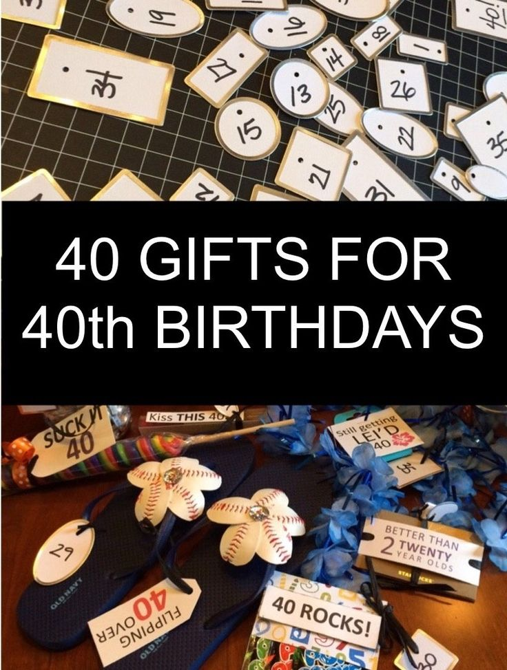 10 impressive 40th birthday gift ideas for husband to