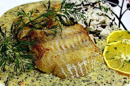 Seelachsfilet mit Senf - Dill - Soße, ein leckeres Rezept aus der Kategorie Fisch. Bewertungen: 111. Durchschnitt: Ø 4,3.