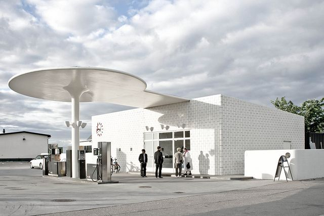 Arne Jacobsen Texaco Gas Station 1936 Photographer Stephannie Fell