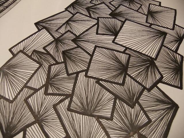 Zentangle idea for school quilt 1