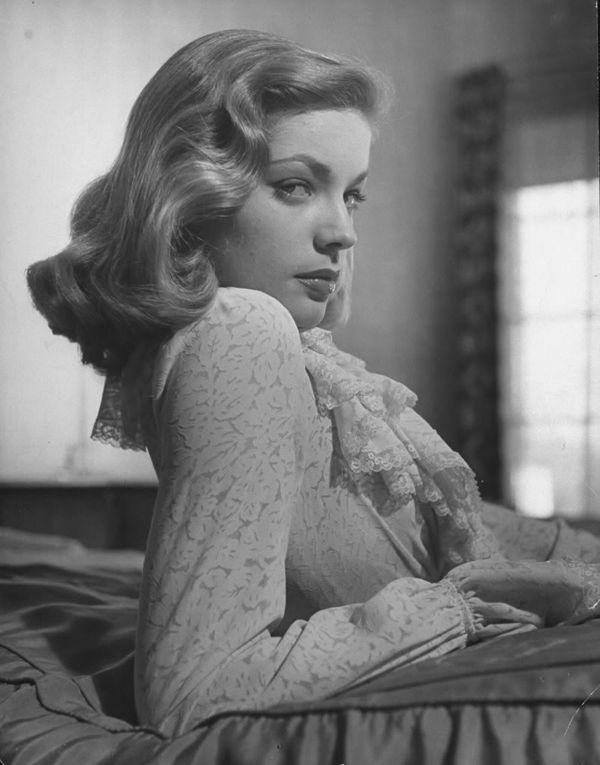 Bittersweet Vogue: Lauren Bacall