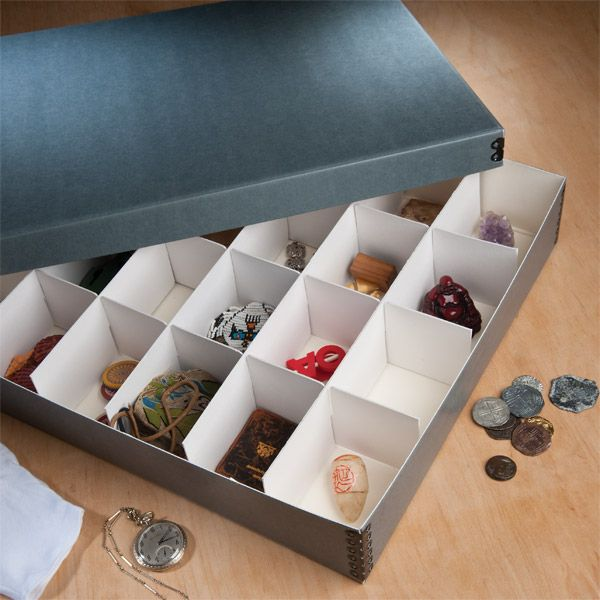 Charming Divided Storage/Ornament Box | University Products Would Be Great For Doll  Accessories