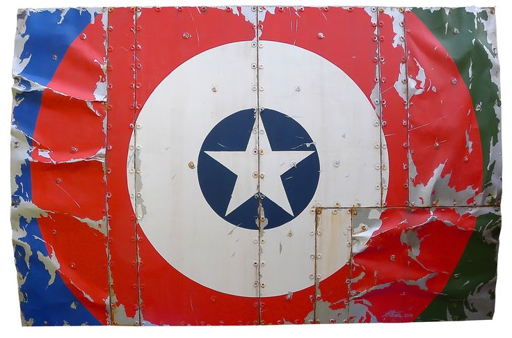 #alban - super heros - mixed media  available the gallery #frenchartstudio
