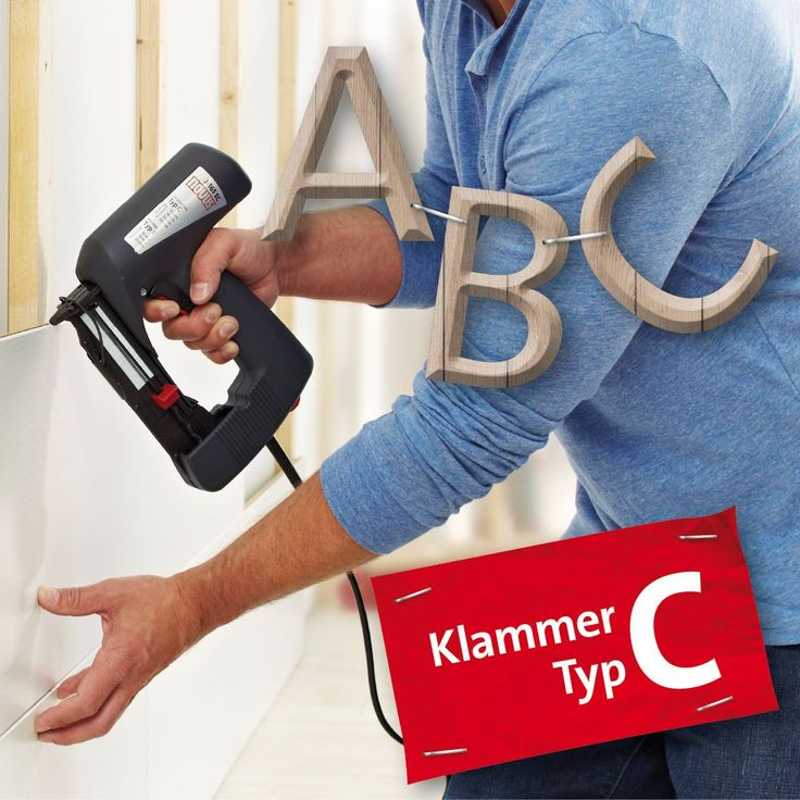 Novus Klammer Typ C ist eine Schmalrückenklammer zur Befestigung von Profilhölzern und Paneelen. Sie eignet sich ideal zum Vertäfeln, egal ob direkt oder mit Profilholzkralle.