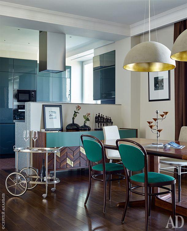 Квартира декоратора Ольги Алексеевой на Красной Пресне, 123 м2 - Дизайн интерьеров | Идеи вашего дома | Lodgers