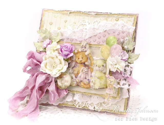 My Little Craft Things: Pion Design - Teddy Bear Picnic with Video