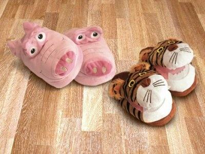 Tigrotto o maialino: pantofole divertenti per ogni bambino soli 12,00€