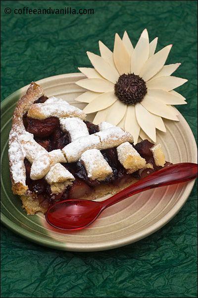Blackcurrant & Apple Pie...