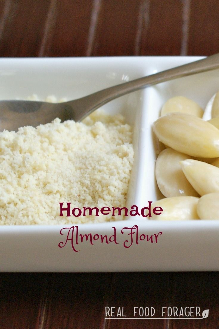 Homemade Almond Flour. Making your own homemade almond flour is one solution to ensure it comes from a good source.