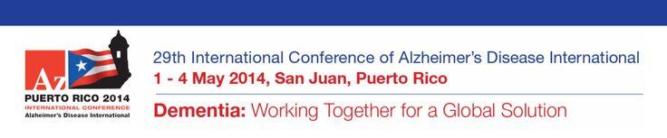 Puerto Rico, del 1 al 4 de mayo: Trabajando Unidos hacia una Solución Global… | Enfermería Alzheimer 2.0, Tnf's y Cuidados