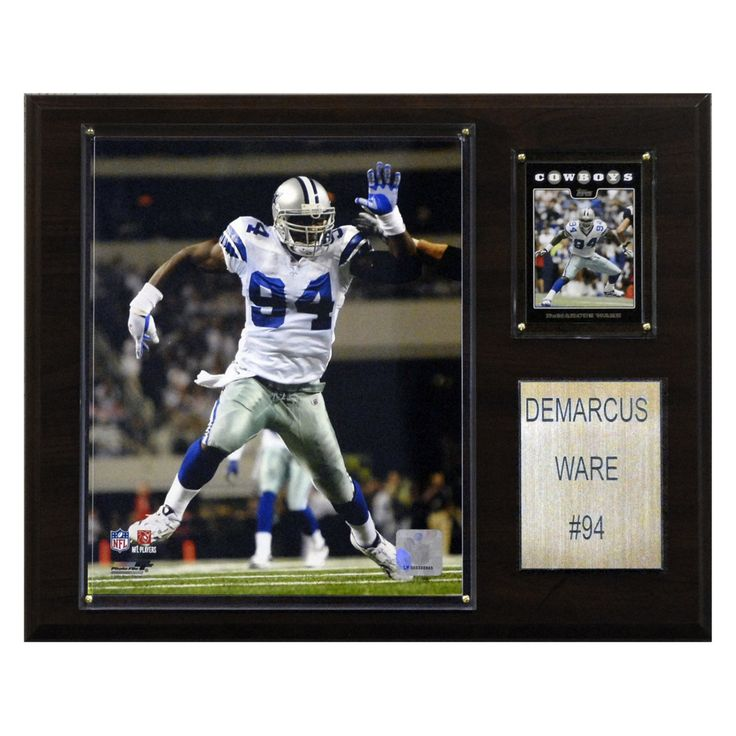 NFL 12 x 15 in. DeMarcus Ware Dallas Cowboys Player Plaque - 1215DWARE