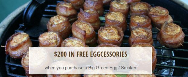 Authorized Big Green Egg Dealer!