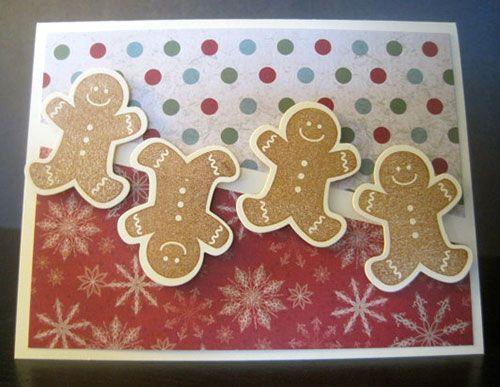 handmade christmas cards | Homemade Christmas Greeting Card Beautiful Handmade Christmas Cards ...