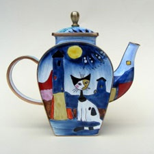 Teapots by GoebelPerpetual Teapots, Teas Time, Style Teapots, Cat Teapots, Teas Pots, Goebels Cat, Coffee Time, Cat Cups, Cats Coffeee Teas