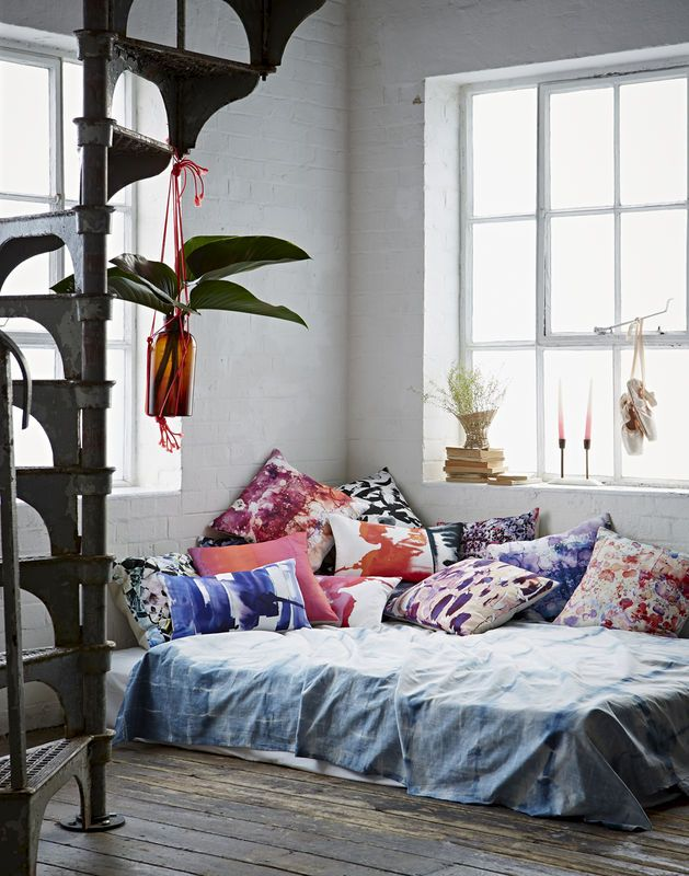 Boho Daybed Cushions By Amy Sia I Styling Emily Henson Bohemian Bedroomsguest Room3 4 Bedsfloor
