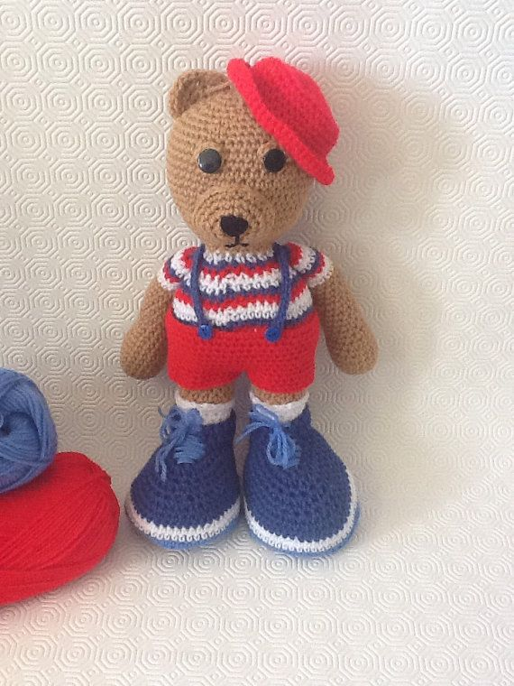 NEW  Handmade Teddybear boy by EvalestAmigurumi on Etsy