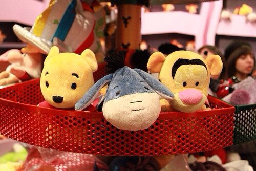 Never can be too old for Disney stuffed animals!