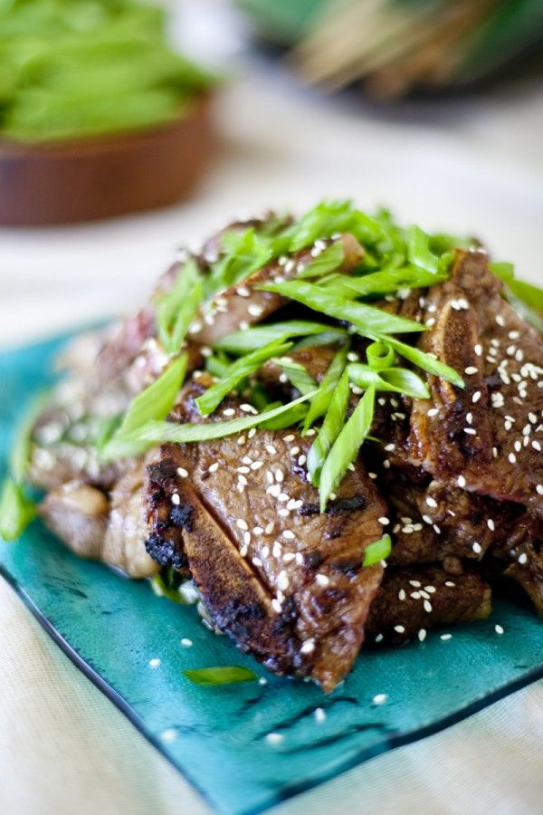 Korean Short Ribs Recipe Kalbi Beef | Eating richly even when you're broke