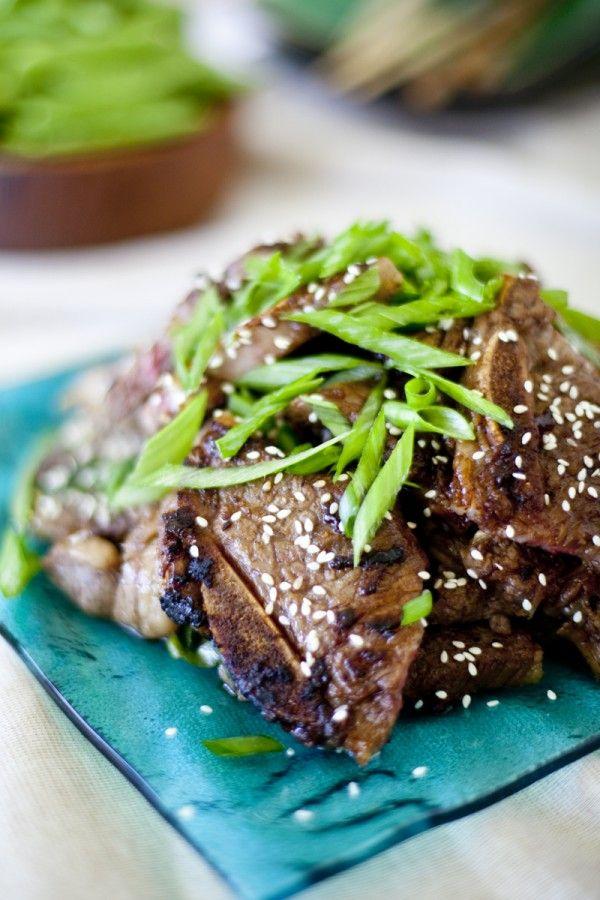Korean Short Ribs Recipe Kalbi Beef | Eating richly even when you're ...