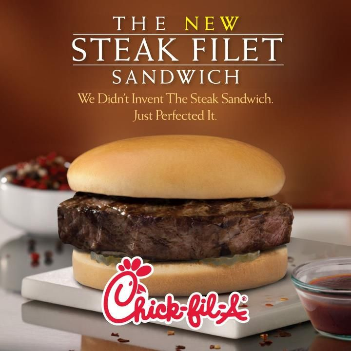 Trying The New Chick Fil A Steak Filet Sandwich The O