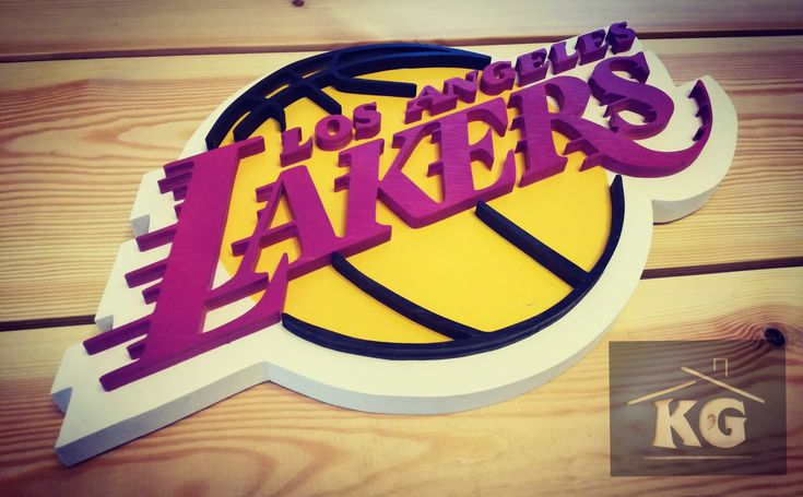 Lakers #wood #woodwork #handmade #basketball #Los Angeles #cool #home #homedrecor