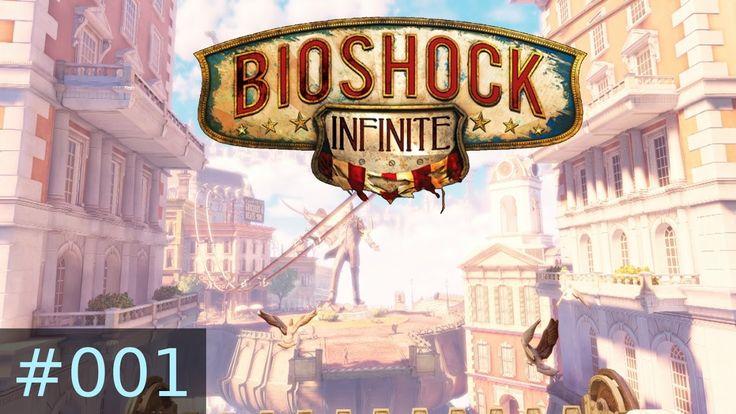 [#001] BioShock Infinite (PC) Gameplay by Taronia Gamenstein
