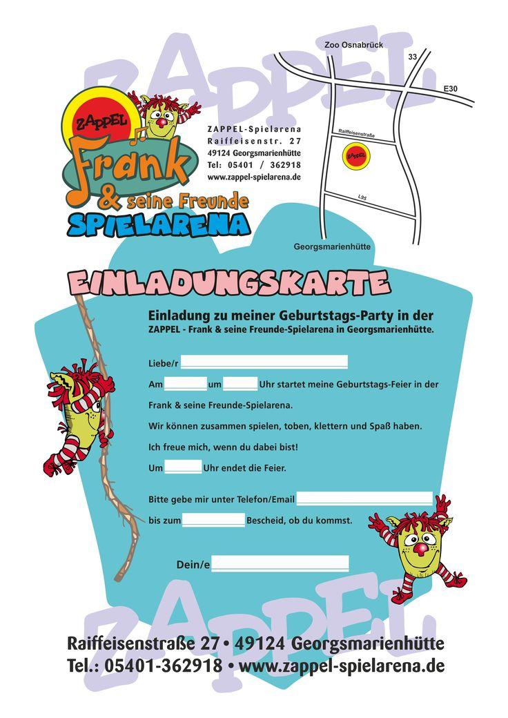 26 best geburtstag einladung images on pinterest | ideas, envelope, Einladungsentwurf