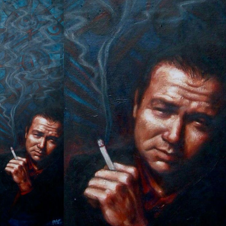 Bill Hicks, by Bob.