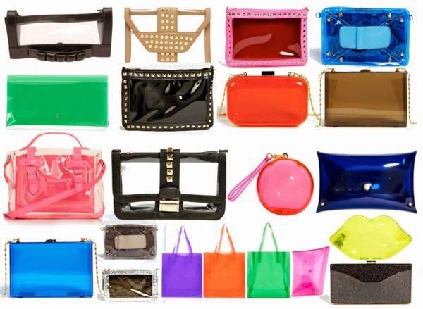 The Girl with the Yellow Bag: Perspex Pieces