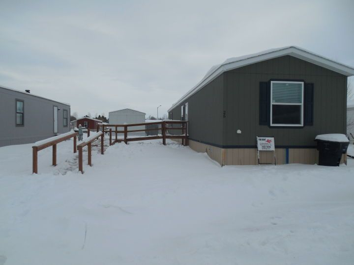 Heights Mobile Home - Billings MT Rentals | Three bedroom two bathroom mobile home is now available for rent! Updated kitchen with dishwasher. Central air conditioning and gas forced air heat. Water is invoiced. Driveway parking. Six month lease. WA1661 | Pets: Allowed | Rent: $950.00 | Call Professional Management Inc. at 406-259-7870