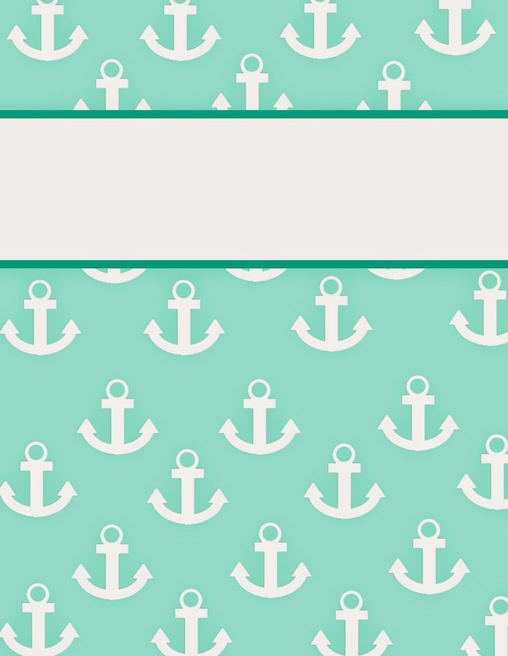 """Anchors Away"" Binder Covers! Easily distinguish YLP ELA binder from YLP Math binder."