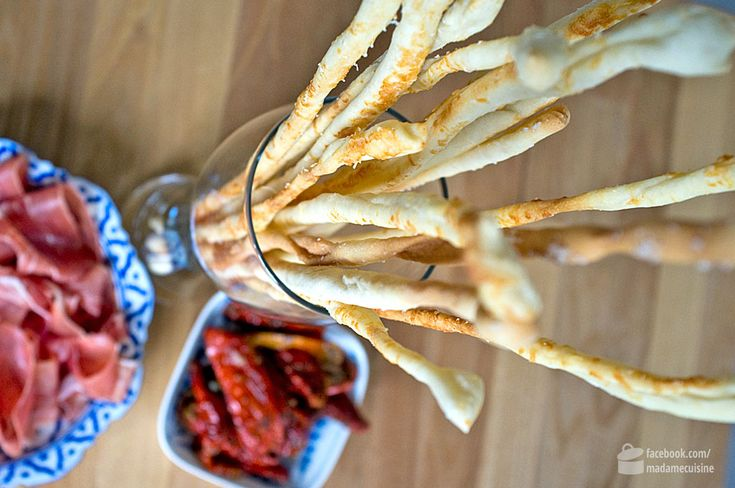 Käse-Grissini | Madame Cuisine Rezept