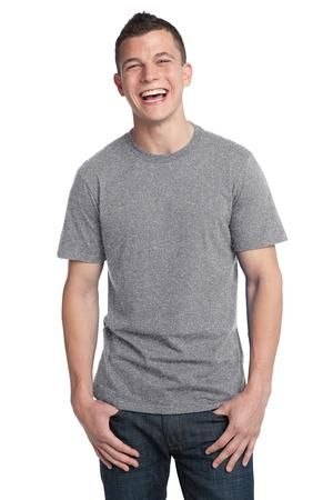 District DT5000 T-Shirts comes with Young Mens Sizes: XS,and is ready for screen printing and embroidery. This tee rocks with comfortable softness smooth lines and a tear-away tag.