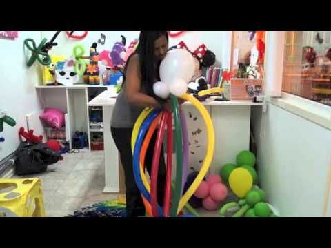payaso en globos - YouTube