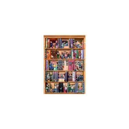 "HEYE Пазл ""Книги"", 1500 деталей, HEYE  — 1069 руб.  —  Юмористические пазлы. Книжный стеллаж. Кол-во деталей 1500.  Размер пазла  58 * 82 см."
