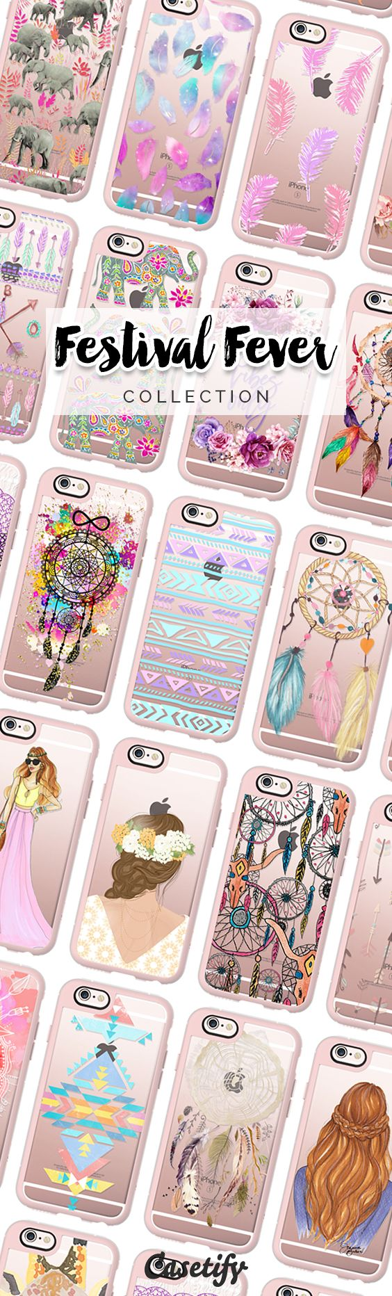 Life is a festival to those who live with enthusiasm. Check out our Festival Fever collection now! https://www.casetify.com/collections/festival_fever#/ | @casetify